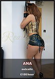 Ana, 29 years old | Real London Escorts