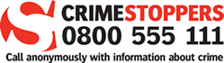 Crime Stoppers 0800 555 111